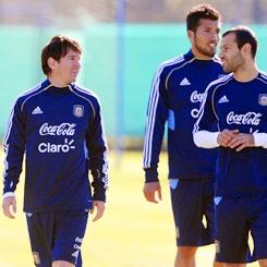 Los Argentinos. La seleccion.