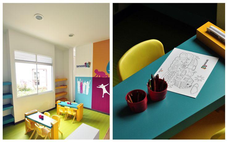 Zonas Infantiles, espacios para divertir a los mas pequeños #kids #fun #ModosExhibiciónInmobiliaria