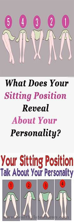 What Does Your Sitting Position Reveal About Your Personality?