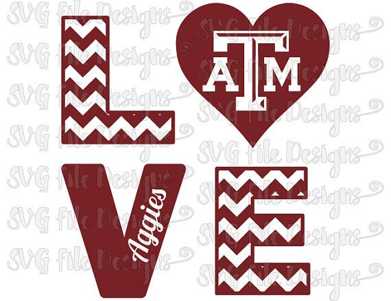 Download 18 best Texas A&M images on Pinterest | Silhouette ...