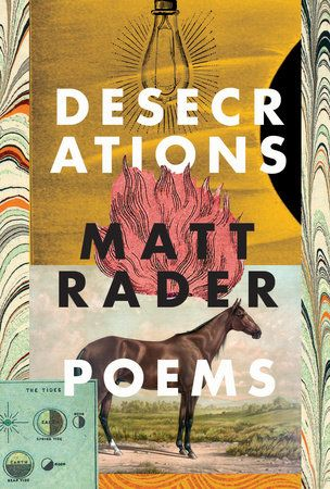 Award winner. A strength of the collection is the smattering of tender existential questions and observances throughout... Read more at Quill and Quire: http://www.quillandquire.com/review/desecrations/