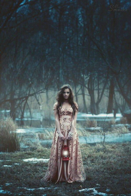 Image via We Heart It https://weheartit.com/entry/173520280 #alone #dress #fear #girl #grunge #lonely #sad