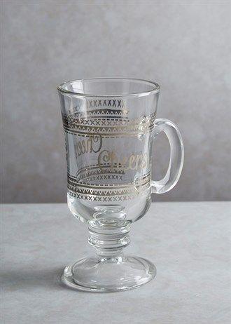 Mulled Wine Glass (15cm x 8cm)