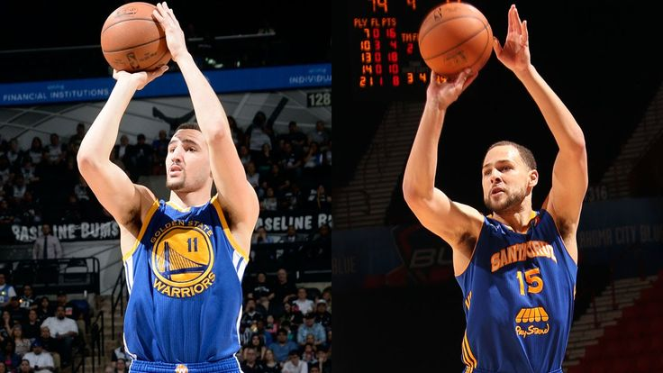 The Warriors' Biological Splash Brothers: Klay & Mychel Thompson
