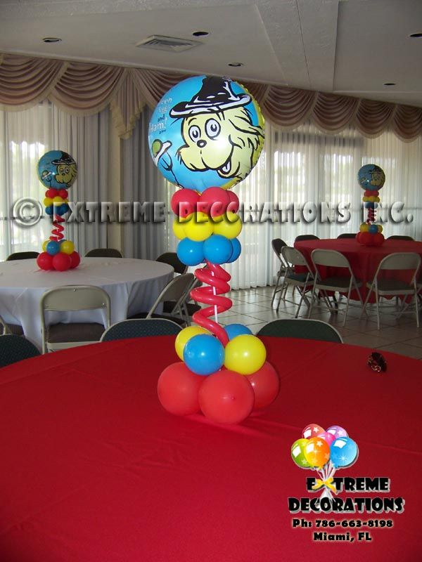 21 best images about Balloon centerpieces on