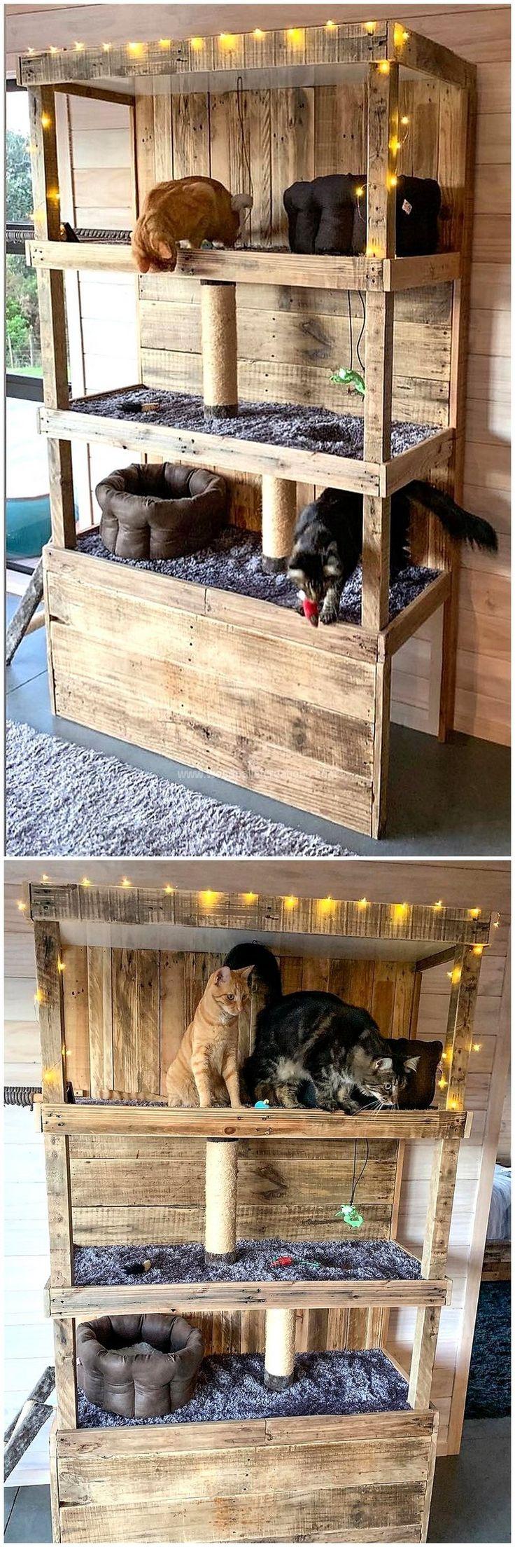 Unique Ideas for Old Pallet Wood Reusing