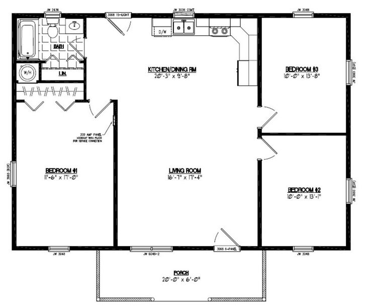 23 best images about floor plans on pinterest house for 40x40 house floor plans