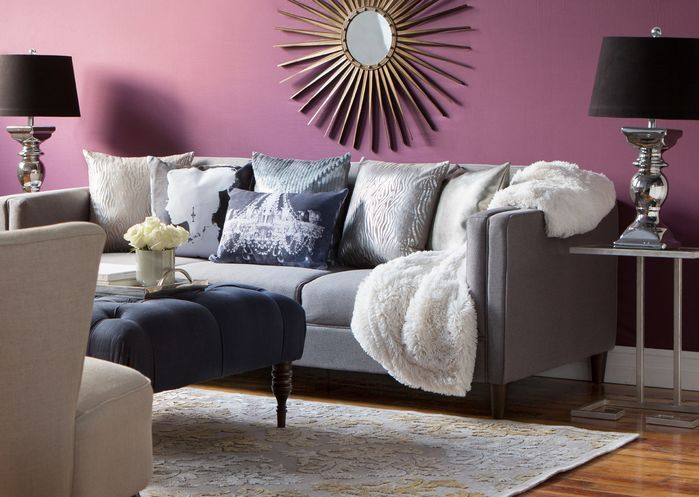 Awesome How To Decorate A Glam Living Room! Click To Shop The Look On Wayfair,