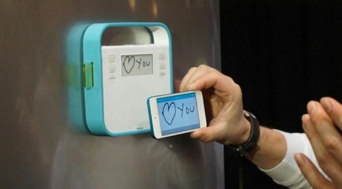 Aplikasi yang ada dapat digunakan untuk melakukan panggilan telepon untuk memberikan informasi kepada orang yang ada di rumah.