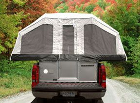 QuickSilver Soft-Side Truck Tent Camper Overview | Livin' Lite RV