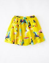 Fun Printed Skirt (Sunflower Circus)
