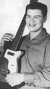 Ritchie Valens 1941 – 1959 was a Mexican-American singer, songwriter and guitarist. A completely self-taught musician, he often improvised new lyrics and added new riffs to popular songs while he was playing. This is an aspect of his music that is not heard in his commercial studio recordings.