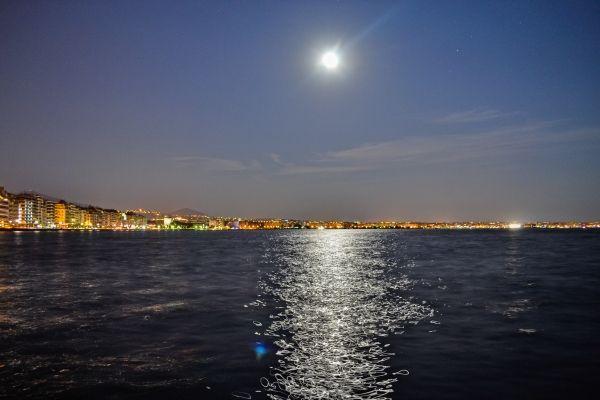 Panorama of Thessaloniki port