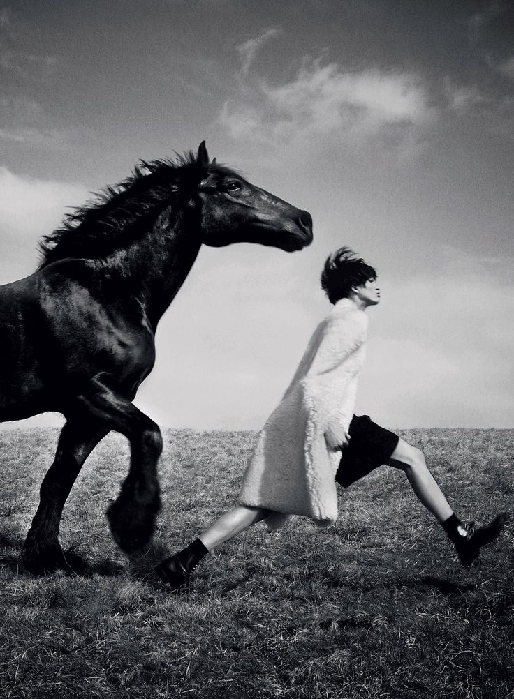 Caption This! Iselin Steiro In Vogue UK By David Sims