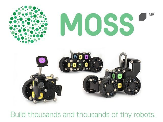 MOSS - The Dynamic Robot Construction Kit by Modular Robotics — Kickstarter