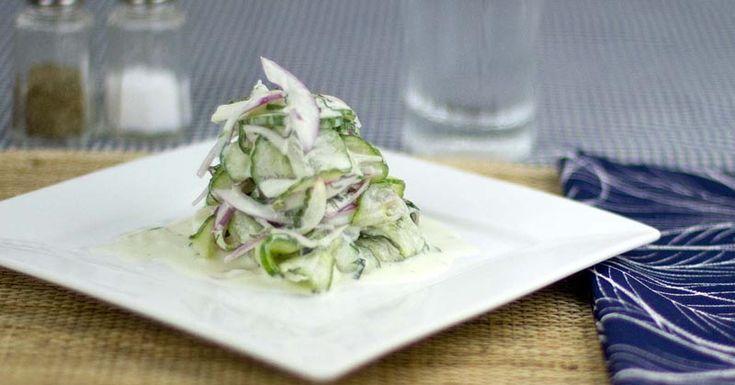 Cucumber-Mint Salad