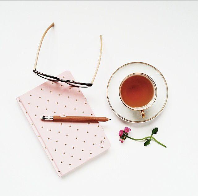 New Pink + Gold Journal www.frankstationery.com