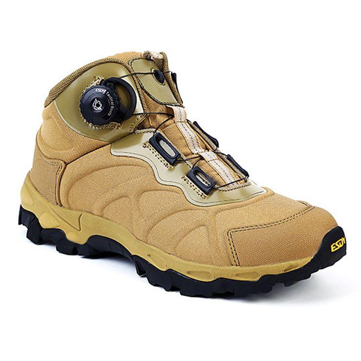 Открытый горный Треккинговые ботинки мужские Армейские ботинки Военное Дело Desert Combat Сапоги и ботинки для девочек автоматическое шнуровка Легкие Трекинговые Сапоги и ботинки для девочек купить на AliExpress