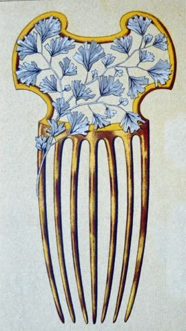 Henri Gillet Hair Comb: