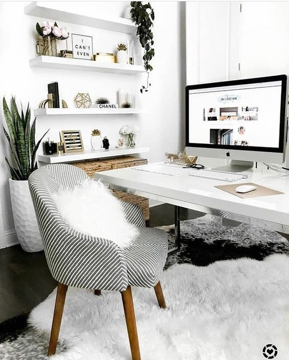 Set up a workplace: a cozy chair is much better