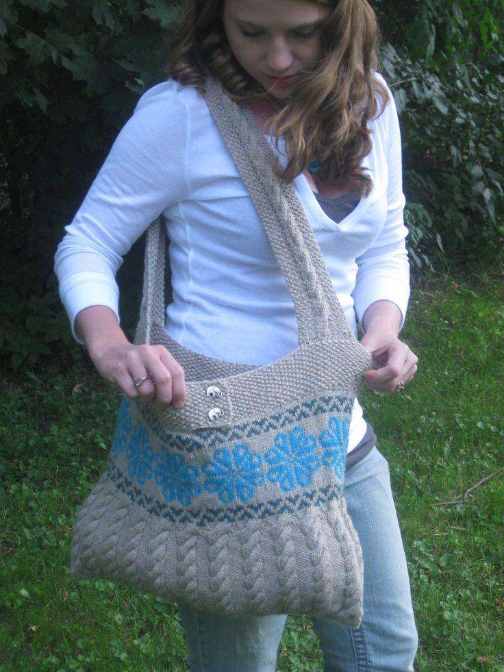 Boredom Buster Bag: Free Knitting, Free Pattern, Boredom Buster, Buster Bag, Knitting Patterns, Knitted Bags