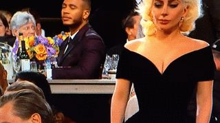 Leo DiCaprio Threw Major Shade At Lady Gaga During The Golden Globes