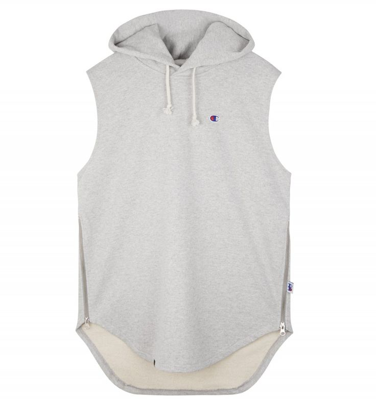 Champion BEAMS SLEEVELESS HOODED SWEATSHIRT #Champion #sweatshirt #beams #sefton #menswear