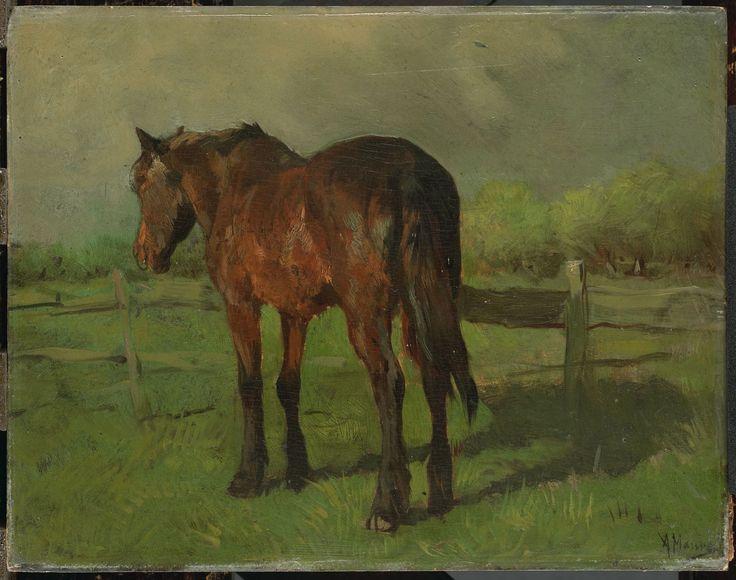 Paard, 1888. Anton Mauve