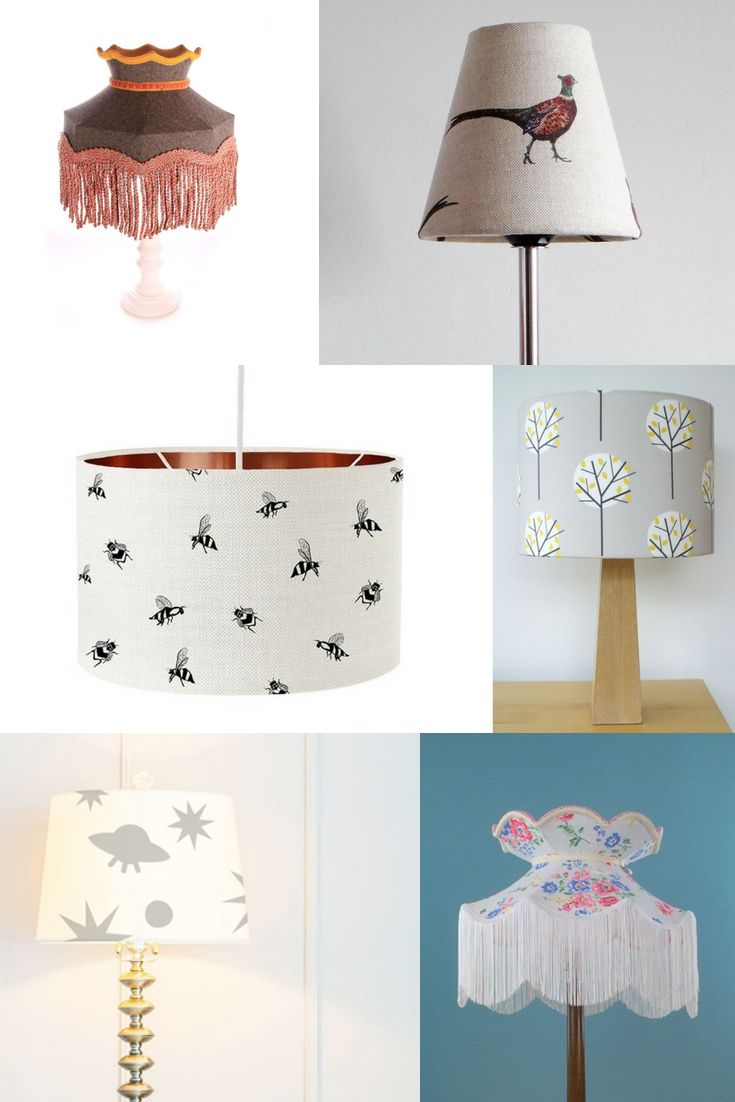 Luminous lampshades - handmade by designers and makers in the UK