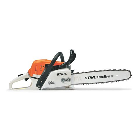 Stohl MS 271 Farm Boss | Mutton Power Equipment  Bringing reduced-emission technology to mid-range chainsaws, the STIHL MS 271 FARM BOSS® is ideal for felling, firewood cutting and storm cleanup tasks. An improved low-emission, fuel-efficient engine cuts emissions by 50% when compared to previous models and delivers 20% longer run times than traditional 2-stroke engines.