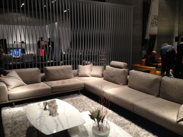 Salone del Mobile 2013: Natuzzi Italy unveils 'Time Project' furniture line with wireless audio systems