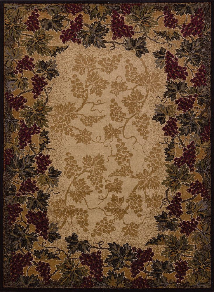 Beaujolais Wine Vineyard Grapes Grapevine Style Area Rug 5 Sizes or Hall Runner | Home & Garden, Rugs & Carpets, Area Rugs | eBay!