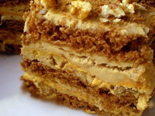 Торт с какао и безе. — Кулинарная книга - рецепты, фото, отзывы