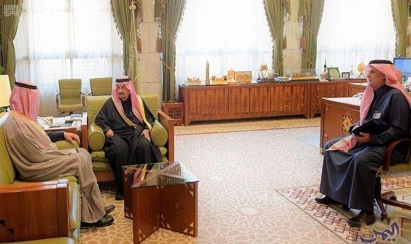أمير الرياض يستقبل وكيل وزارة الثقافة والإعلام للشؤون الإعلامية