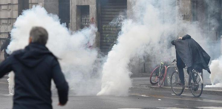 Le immagini della giornata di violenza a Milano in occasione dell'apertura dell'Expo 2015