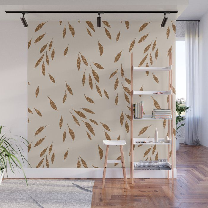 Buy Falling Leaves Wall Mural By Kellimurray Worldwide Shipping Available At Society6 Com Just One Of Millions Of Hig Wall Murals Removable Wall Murals Mural