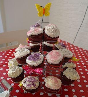 Redvelvet cupcakes lactose vrij