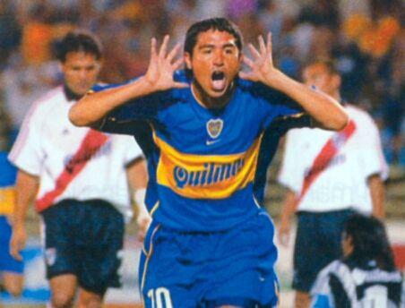 Boca Juniors - 2001 - Roman