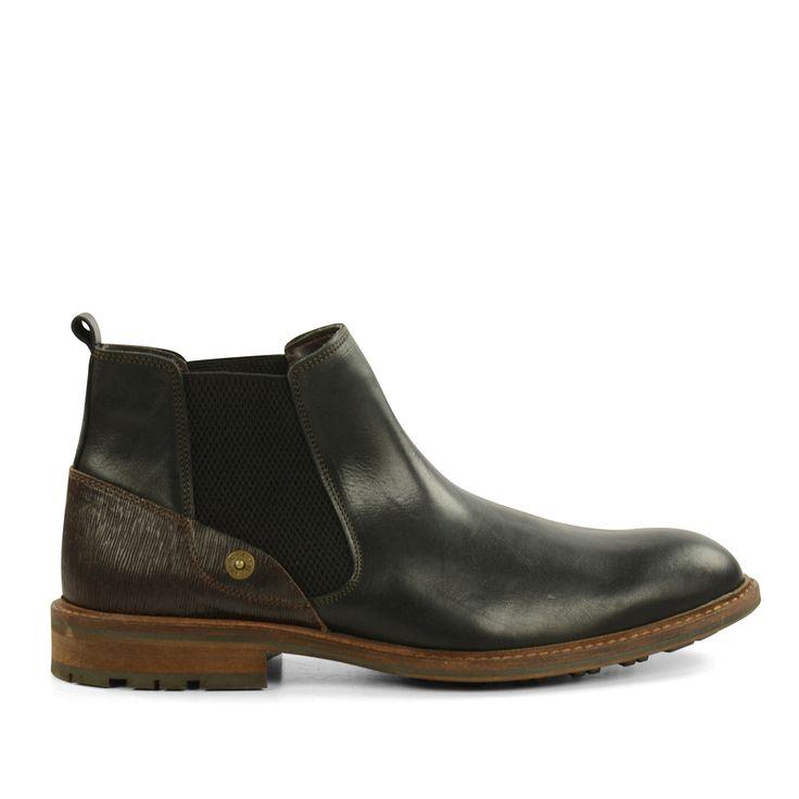 Zwarte leren Chelsea boots #Chelsea boots #boots