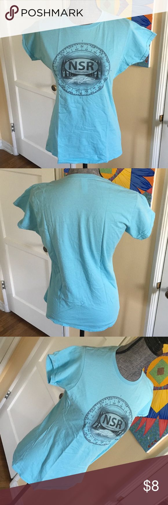 Great Summer Tee 🤠☀️🌼 Kenny Chesney's NSR (no shoes radio) tee shirt. Great condition for that Kenny Chesney fan. Unique Tee Tops Tees - Short Sleeve