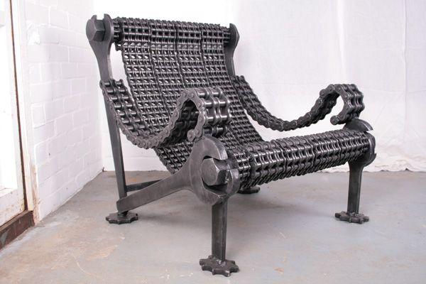 Industrial art furniture from Stig - Dark Roasted Blend