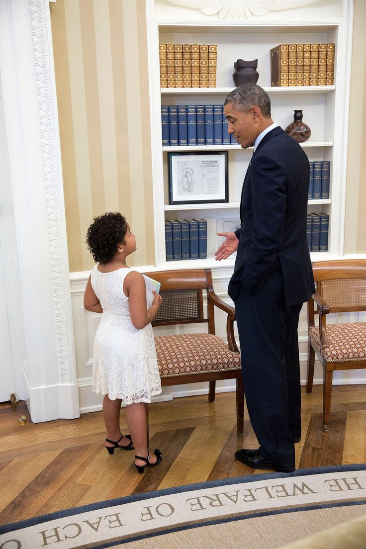 barak obama oval office golds. President Barack Obama Visits With Ella Wade, A Make-A-Wish Recipient, In The Oval Office, June (Official White House Photo By Pete Souza) Barak Office Golds