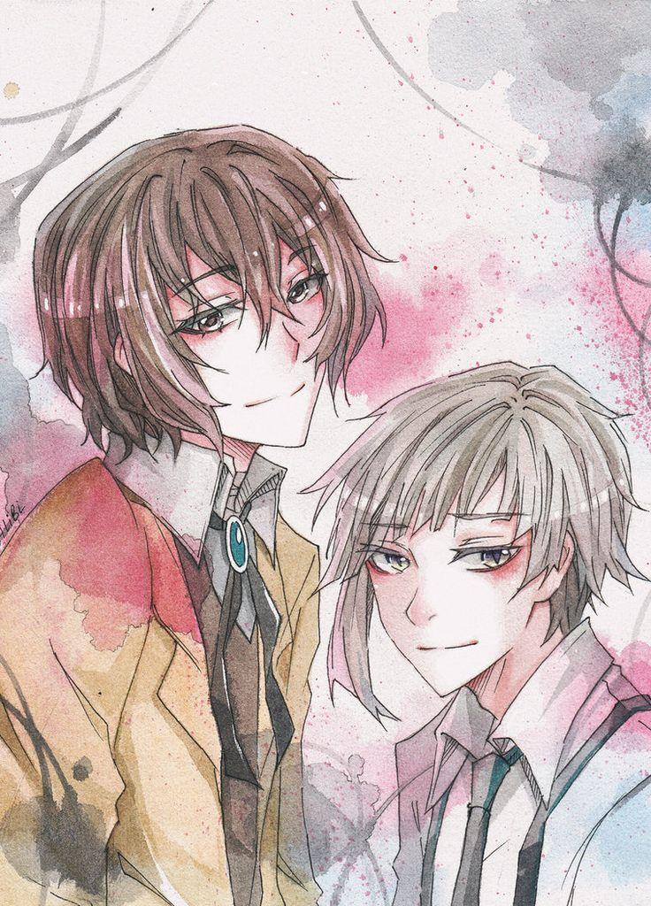 Dazai Osamu and Atsushi by on