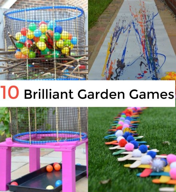492 best outdoor play ideas for kids images on pinterest play 10 brilliant giant garden games workwithnaturefo