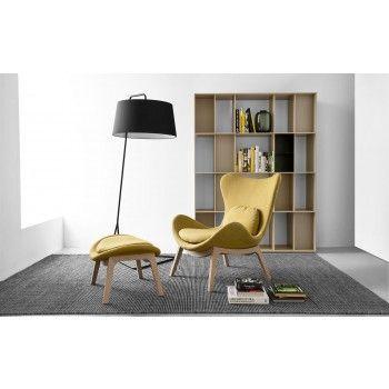 Lazy Chair & Ottoman Sextans Floor Lamp