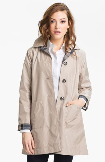 Barbour 'Derby Mackintosh' Reversible Raincoat available at Nordstrom