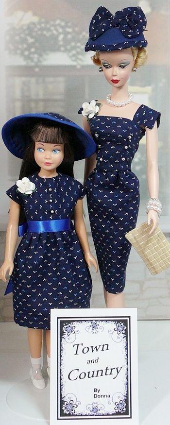 Skipper and Barbie