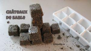 Châteaux de sable - Activités pour enfants - Gribouille