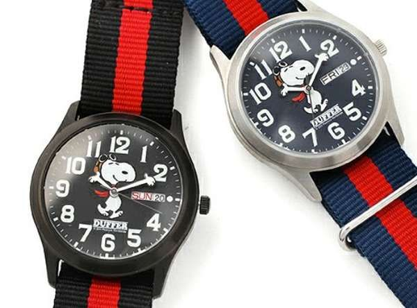 The Snoopy Military Watch is Perfect for Fashionable Peanuts Fans #Pop Culture trendhunter.com