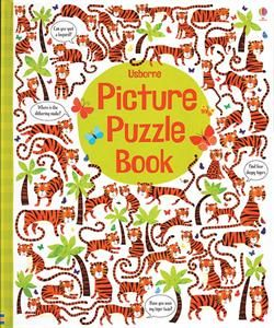 Picture Puzzle Book. This irresistible book contains vibrantly illustrated animal puzzles. Each page is full of things to find, similarities to spot, differences to detect, and hundreds of other delightful details to talk about. Young children will love searching the arrays of animals while developing their powers of observation, and their number and language skills.